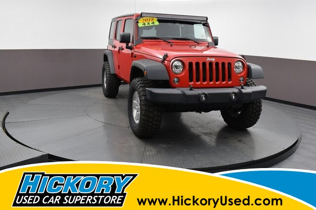 Pre-Owned 2018 Jeep Wrangler JK Unlimited Sport 4x4