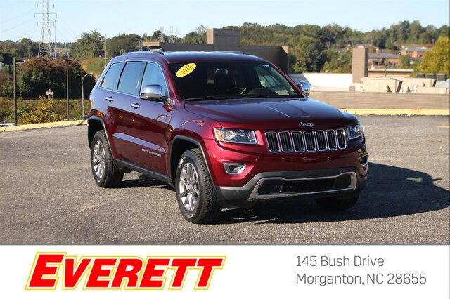 Pre-Owned 2016 Jeep Grand Cherokee Limited 4x4