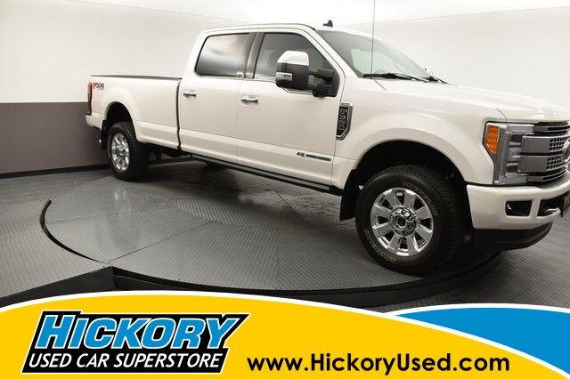 Pre-Owned 2019 Ford F-350 Platinum SD Crew Cab 4x4 SRW