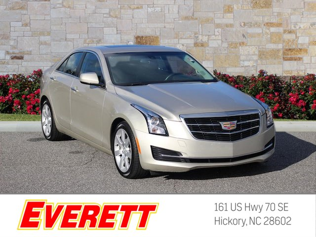 Certified Pre-Owned 2015 Cadillac ATS 2.5L RWD