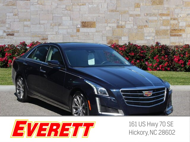 Certified Pre Owned 2016 Cadillac Cts 3 6l Luxury Collection