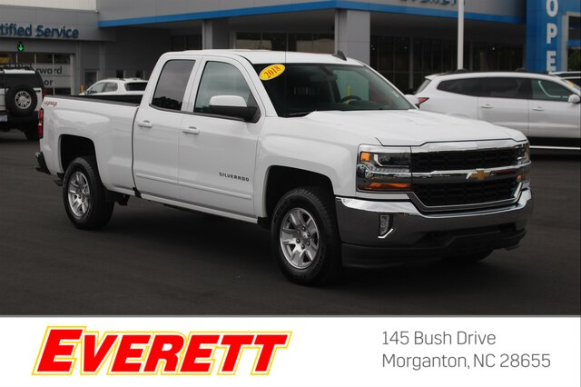 Pre-Owned 2018 Chevrolet Silverado 1500 LT Double Cab 4x4