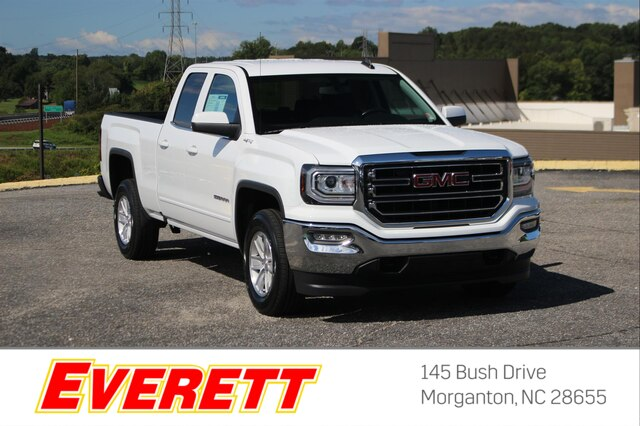 Certified Pre-Owned 2017 GMC Sierra 1500 SLE Double Cab 4x4