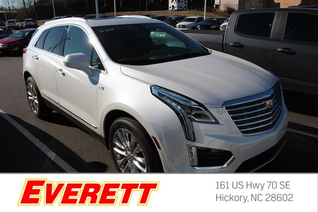 Certified Pre Owned 2017 Cadillac Xt5 Platinum Awd Suv In Morganton