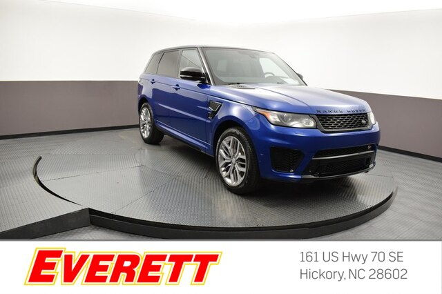 Pre-Owned 2015 Land Rover Range Rover Sport 5.0L Supercharged SVR 4x4
