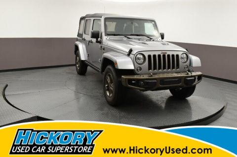 Pre-Owned 2017 Jeep Wrangler Unlimited Sahara 4x4