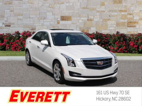 Certified Pre-Owned 2016 Cadillac ATS 2.0L Turbo Luxury Collection