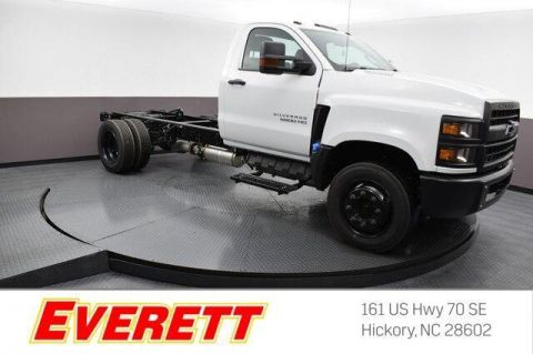 New 2019 Chevrolet Silverado Chassis Cab Work Truck Reg Cab 4x2