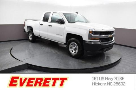 New 2019 Chevrolet Silverado 1500 LD WT Double Cab 4x4