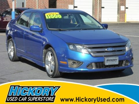 Pre-Owned 2012 Ford Fusion Sport FWD